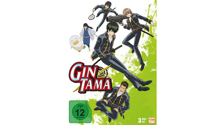 Gintama Box 3 Episode 25 37 3 DVDs