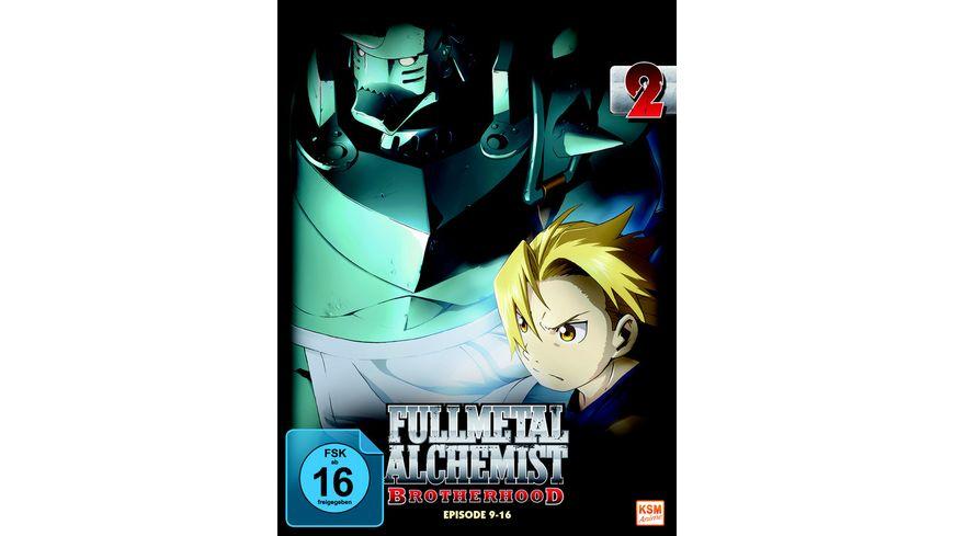 Fullmetal Alchemist - Brotherhood Vol. 2/Episode 9-16  [LE]  [2 DVDs]