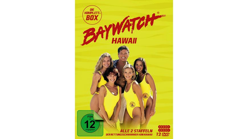 Baywatch Hawaii Komplettbox Staffel 1 2 12 DVDs