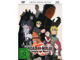 Road to Ninja Naruto The Movie 2012 Mediabook DVD SE