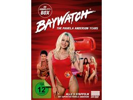 Baywatch The Pamela Anderson Anderson Years Komplettbox Alle 5 Staffeln 30 DVDs