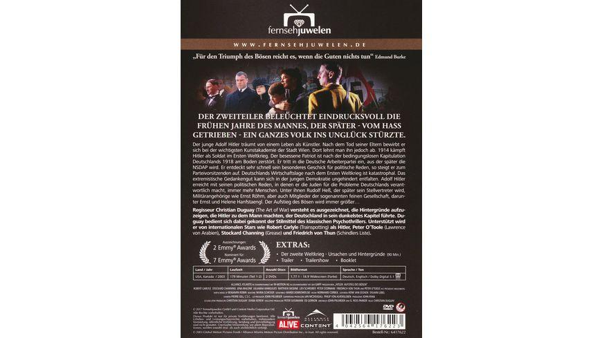Hitler Der Aufstieg des Boesen Der komplette Zweiteiler 2 DVDs
