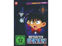 Detektiv Conan TV Serie DVD Box 2 Episoden 35 68 6 DVDs