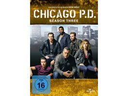 Chicago P D Season 3 6 DVDs