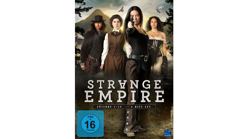 Strange Empire Episoden 01 13 4 DVDs