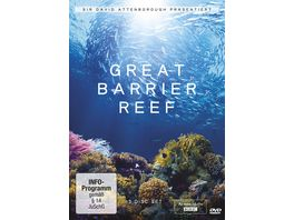 David Attenborough Great Barrier Reef 3 DVDs