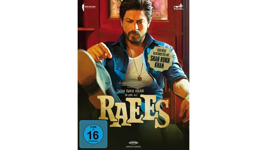 Raees DVD Poster SE