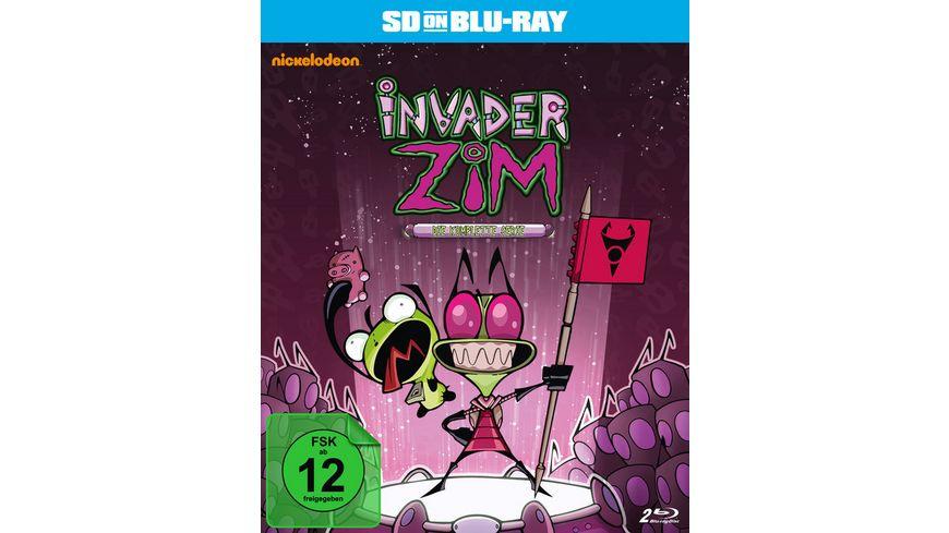 Invader ZIM Die komplette Serie SD on Blu ray 2 BRs