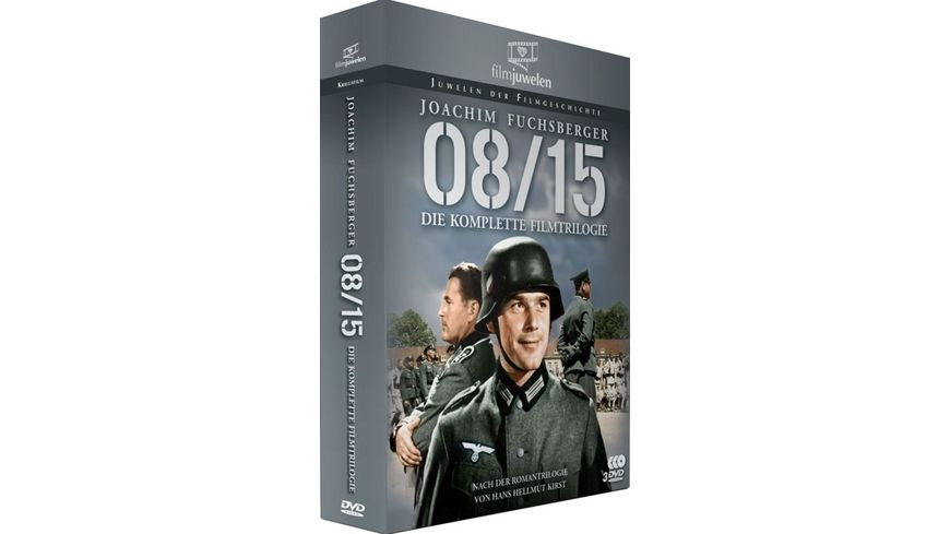 08 15 Die komplette Filmtrilogie 3 DVDs