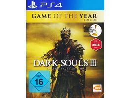 Dark Souls 3 The Fire Fades Edition GOTY