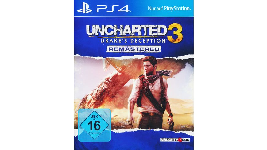 Uncharted 3 Drake s Deception Remastered