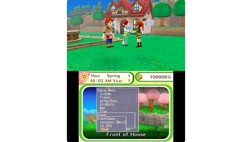 Harvest Moon Dorf des Himmelsbaumes