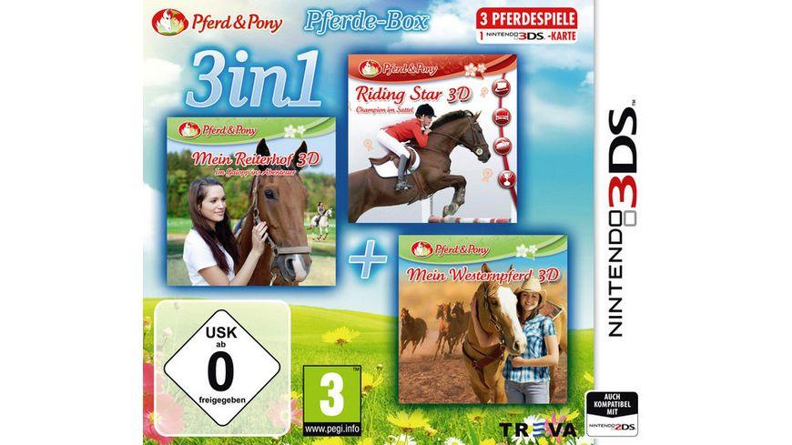 3 in 1 Pferde Box
