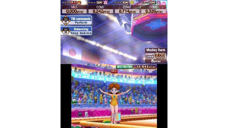 Mario Sonic bei den Olympischen Spielen