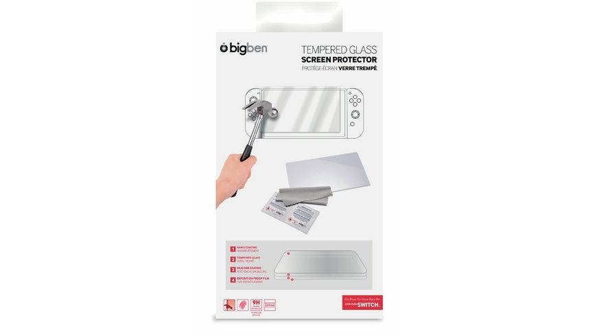 BIGBEN Tempered Glass Screen Protector - Switch