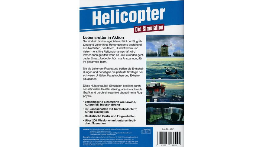Helicopter Die Simulation