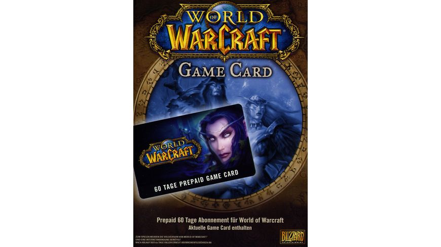 World of Warcraft - 60 Tage Timecard