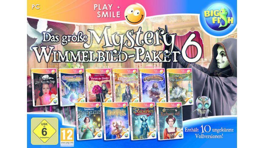 Das grosse Mystery Wimmelbild Paket 6