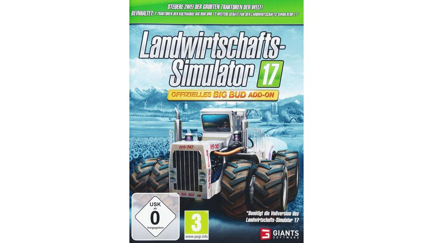 Landwirtschafts Simulator 2017 Big Bud Add On