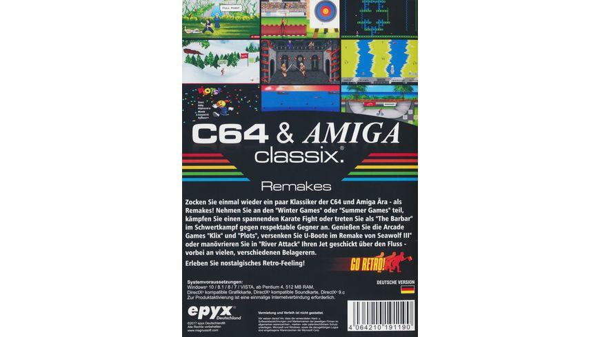 C64 Amiga Classix Remakes