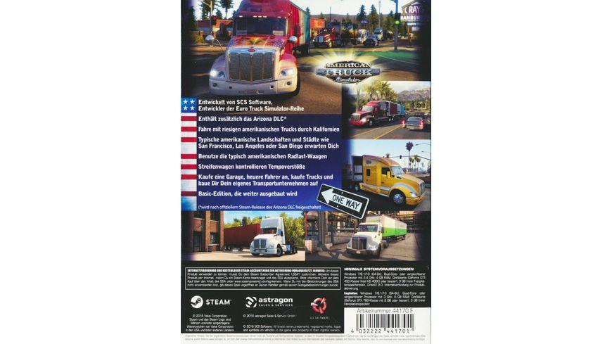American Truck Simulator Starter Pack Calif