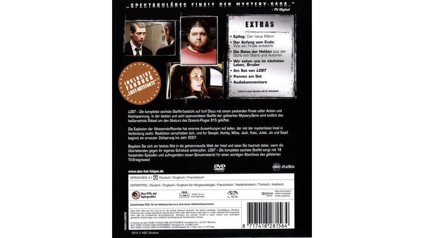 Lost Staffel 6 5 DVDs