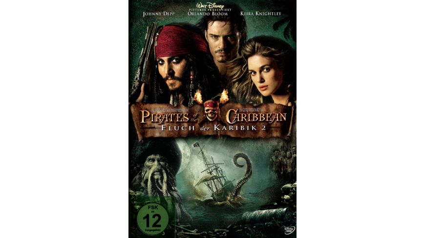 Pirates of the Caribbean Fluch der Karibik 2