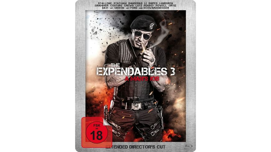 The Expendables 3 A Man s Job Extended Director s Cut Steelbook LE