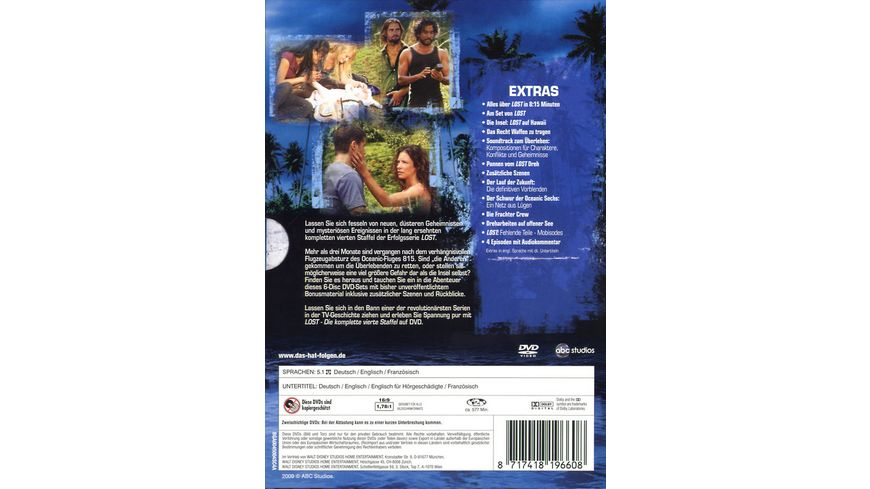 Lost Staffel 4 6 DVDs