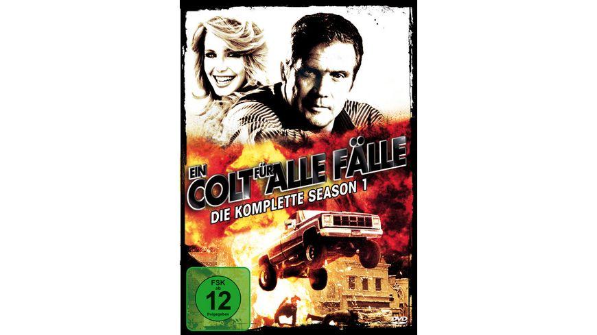 Ein Colt fuer alle Faelle Season 1 6 DVDs