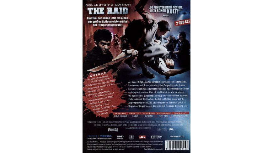The Raid SE 2 DVDs