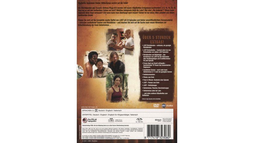 Lost Staffel 2 7 DVDs