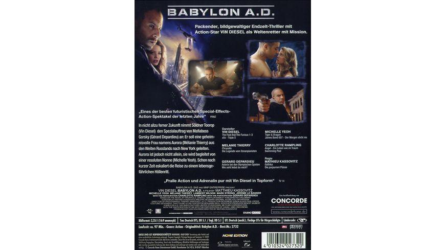 Babylon A D Uncut