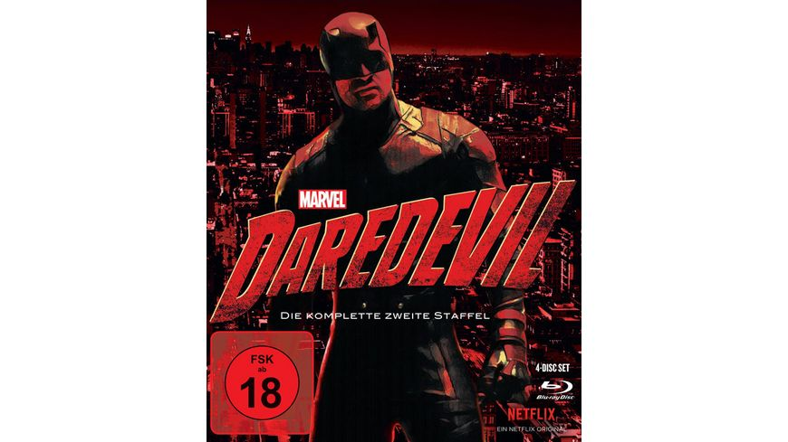 Marvel s Daredevil Die komplette 2 Staffel 4 BRs