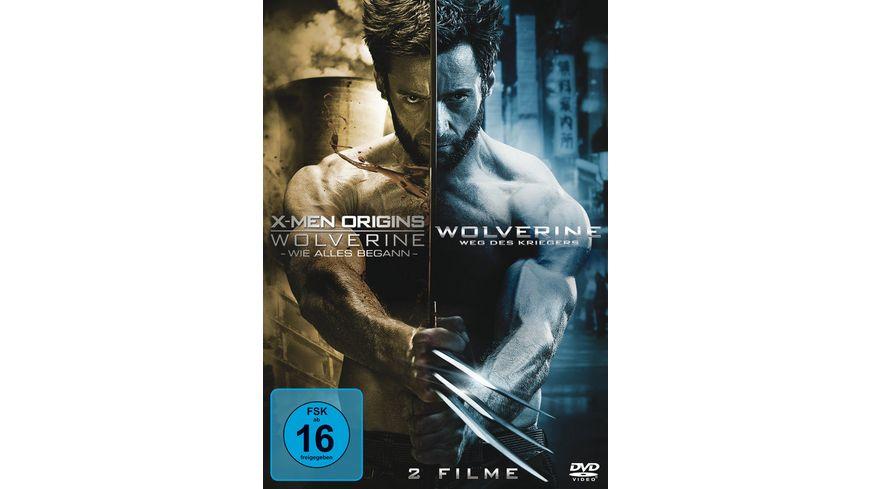 Wolverine 1 2 2 DVDs