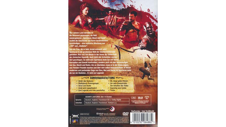 Spartacus Blood and Sand Die komplette Season 1 5 DVDs