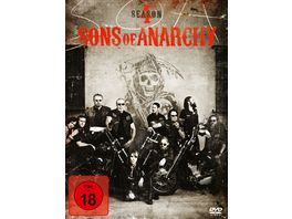 Sons of Anarchy Season 4 4 DVDs