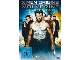 X Men Origins Wolverine Extended Version Digital Copy