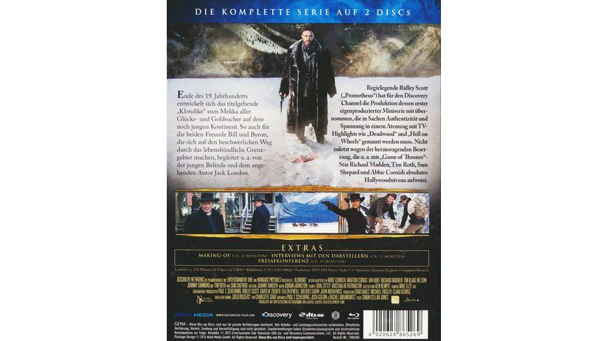 Klondike Die komplette Serie inkl Pilotfilm 2 BRs
