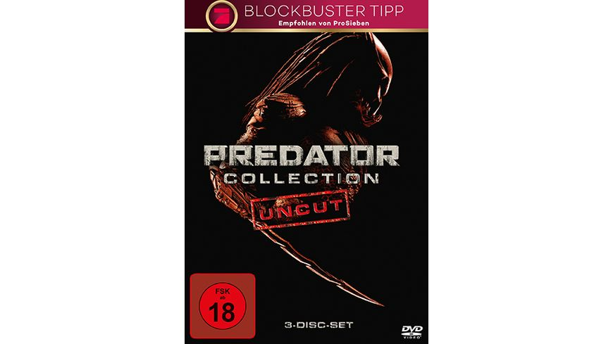 Predator 1 3 Collection 3 DVDs