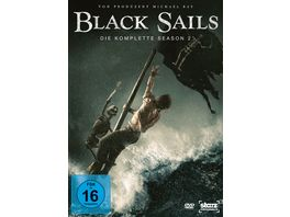 Black Sails Season 2 4 DVDs