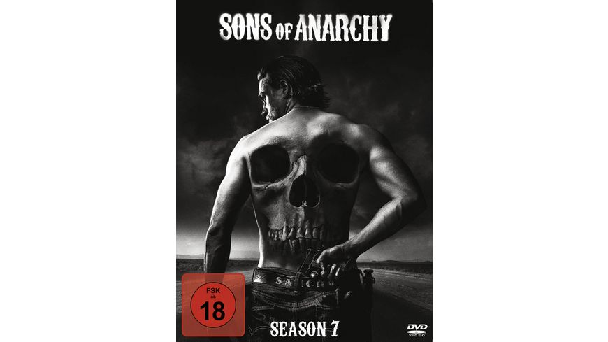 Sons of Anarchy Season 7 5 DVDs