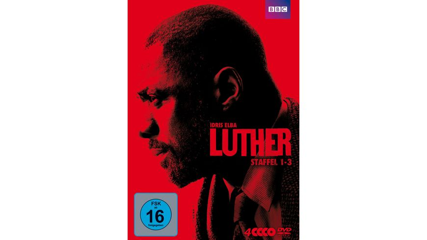 Luther Staffel 1 3 4 DVDs