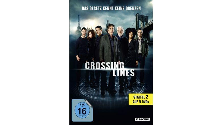 Crossing Lines Staffel 2 4 DVDs