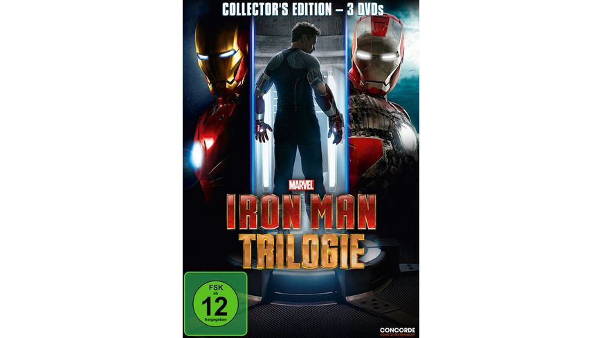 Iron Man Trilogie 3 DVDs
