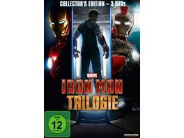 Iron Man Trilogie 3 DVDs