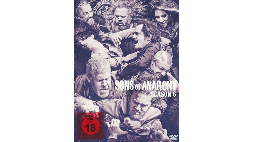 Sons of Anarchy Season 6 5 DVDs