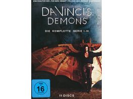 Da Vinci s Demons Die komplette Serie 11 DVDs