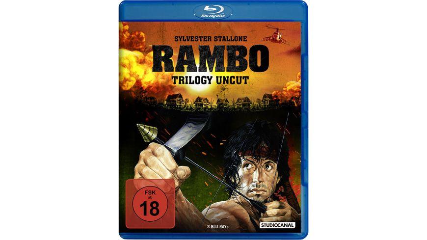 Rambo Trilogy Uncut 3 BRs