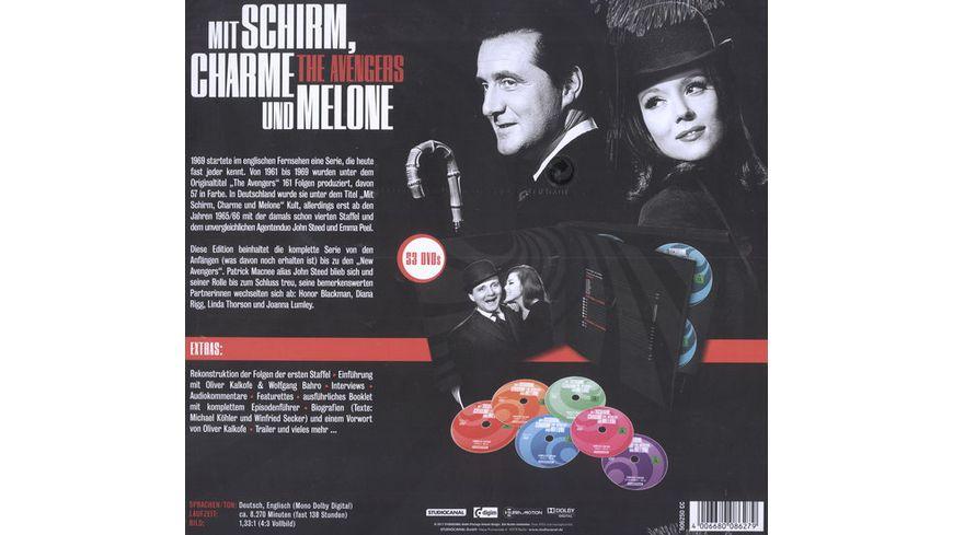 Mit Schirm Charme und Melone Complete Edition 53 DVDs